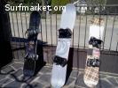 Tablas SNOWBOARD+FIJACIONES: juntas o por separado