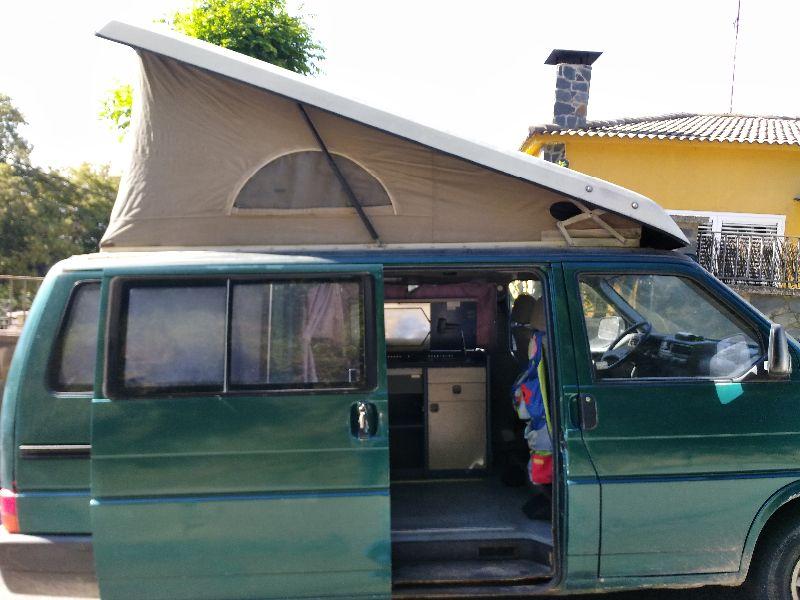 Vendo furgoneta camper vw california t4 segunda mano for Vendo furgoneta camper