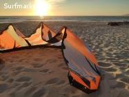 Cometa kitesurf Rrd vision 2017 con barra dos usos 10.5m