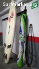 Equipo completo de windsurf