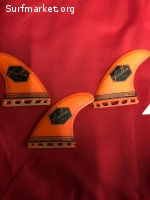 Quillas Feather Fins Ultralight Futures