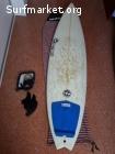 "Tabla surf Fish Full&Cas 6'3"""