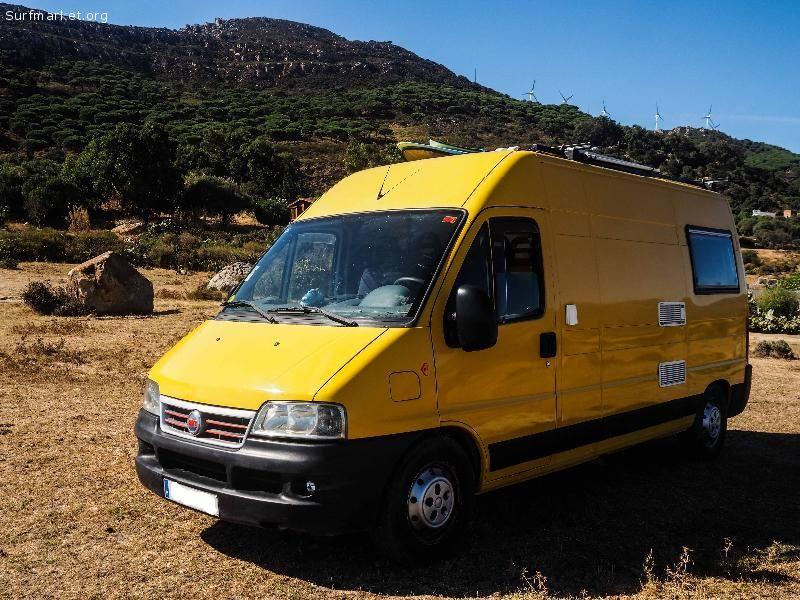 Annunci furgoni e camper furgoneta camper fiat for Vendo furgoneta camper