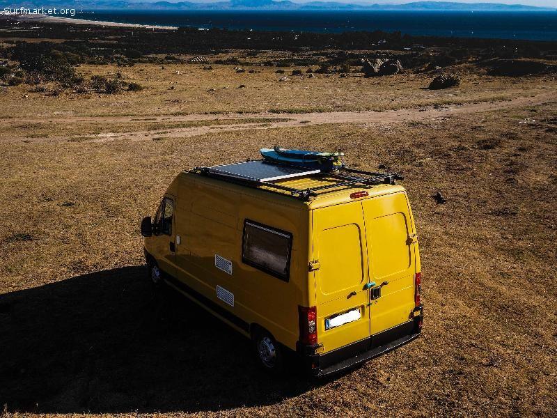 Vendo furgoneta camper fiat ducato de segunda mano en for Vendo furgoneta camper