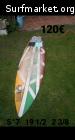 Legend Surfboards 5'7'' Fish