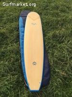 Longboard epoxy full&cas 9'