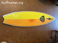 Mark Richards twin fin 5.11