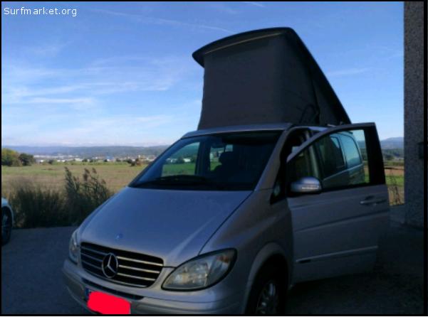 annunci furgoni e camper mercedes viano marco polo. Black Bedroom Furniture Sets. Home Design Ideas
