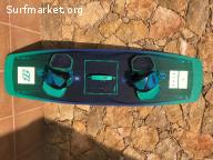 North X-Ride kiteboard 138/41 2017