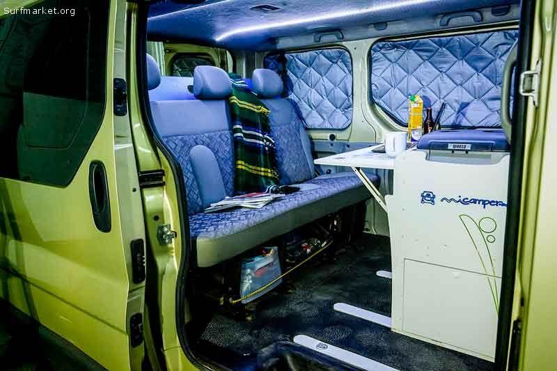 Vendo furgoneta opel vivaro 1 9 homologada vivienda for Vendo furgoneta camper