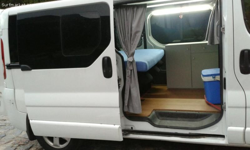 anuncios segunda mano furgonetas opel vivaro camper 2007. Black Bedroom Furniture Sets. Home Design Ideas