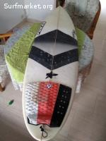 Tabla Surf Pukas Gran Amigo 5'8''