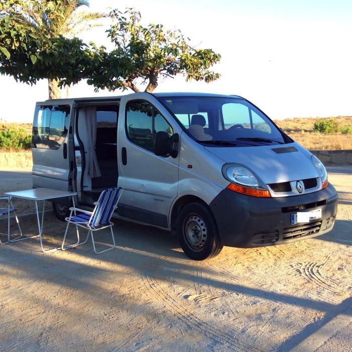 furgoneta renault trafic camper segunda mano barcelona. Black Bedroom Furniture Sets. Home Design Ideas