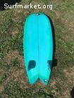 Tabla Surf Retro Fish 5'6 Twin fin