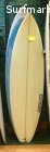 Shortboard 6'0, tabla de surf, thruster