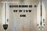 Tabla de surf Slater Designs 6'0''
