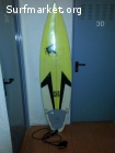 Tabla 6'3'' con quillas FCS y funda