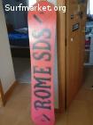 Tabla Snowboard Rome 175cm