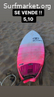 Tabla de surf 5,10 31L