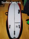 "Tabla de surf DHD Phoenix 5'5 19"" 2""5/16 de 27 litros"