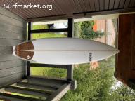 Tabla de surf Ducks Dowel 5'10 x 27.6L
