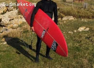 Tabla de Surf Gun CX 9'8'' x 72L