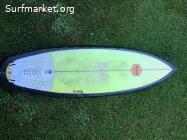 Tabla de surf honey 5'6 x 25 litros