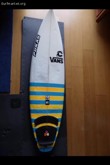 tablas de surf vans