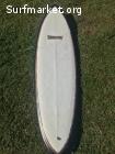 VENDIDA!!!!Tabla de surf Retro Stinky Tofu 2+1