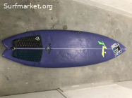 Rusty Bali single fin 5'11''