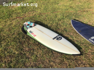 Tabla de surf Slash Rad Fun 5'10