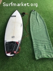 Soul Surfboards Bulldog 6'4 x 36.4L