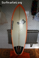 Tabla de surf Styling Kike Panera Vector
