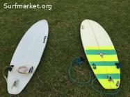 Tabla de Surf Zero 5'8
