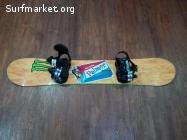 TABLA PALMER SAGA FULL ROCKER + FIJACIONES DRAKE