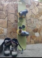 Tabla Snowboard  Burton Charger 148cm