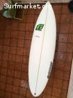 Tabla surf 5'9 Casi nueva 6 baños