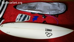"Tabla surf Al Merrick ""The proton"" 6'2"