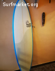 Tabla surf Full&Cas 6'8''