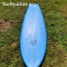 Tabla surf DamnPin Fish 5'8'' x 35L