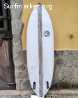 Tabla surf DamnPin Fish 6'0 x 35L