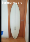 "Tabla surf DXTR 5'11"" single fin + quilla"