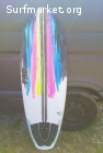 VENDIDA Tabla surf PRO Quad 5'4 epoxy