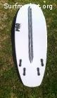 Tabla surf PRO Quad 5'4 epoxy