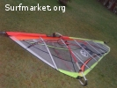 Tabla BIC 285 Fun Slalom y 2 velas windsurf