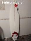 Tabla Surf watercooled 6'4''