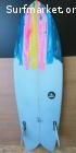 Tabla Surf Twin Fin 5'4'' x 34LVENDIDA