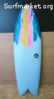 Tabla Surf Twin Fin 5'4'' x 34LVENDIDA