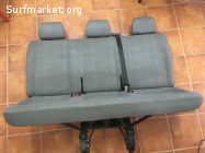 Vendo asiento triple VW Transporter T5