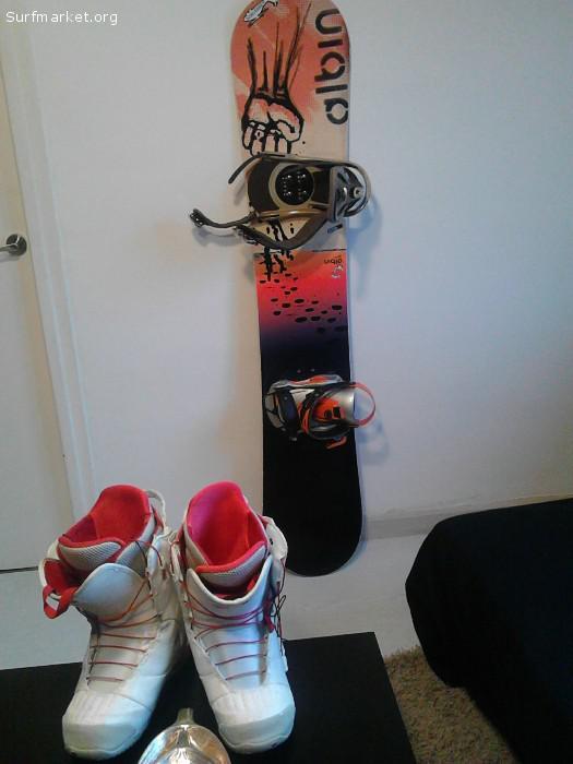 35e6de28d6 Ads - Snowboard - VENDO EQUIPO DE SNOW SUPER BARATO